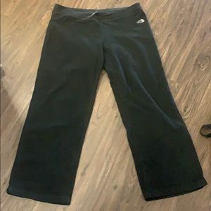 North face fleece lounge pants